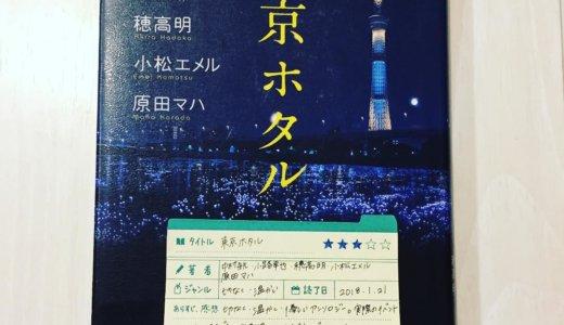 実際に開催されたイベントをテーマにしたアンソロジー「東京ホタル:中村航 小路幸也 穂高明 小松エメル 原田マハ」の感想