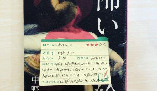 絵画に無縁ですがこの本は1枚の絵画についての物語、歴史、画家の生き方等、たくさん知ることができて、絵ってすごい…ってなる「怖い絵3:中野京子」の感想